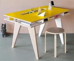 Idee per una scrivania a misura di bambino