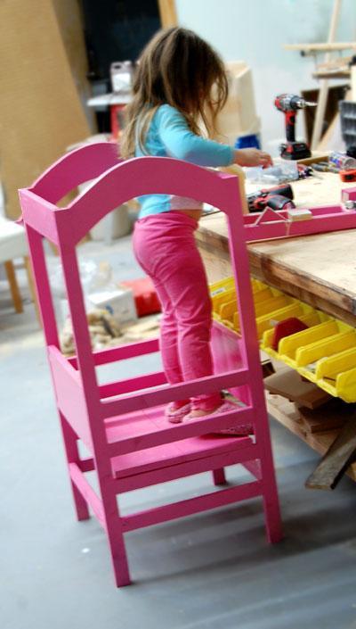 Diy Toddler Step Stool