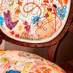 Mobili colorati dai bambini