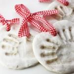 Le mie impronte di manine per Natale