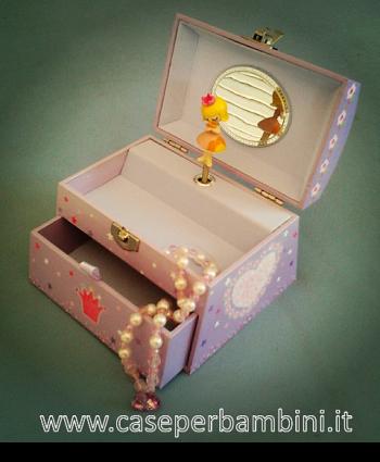 Il bauletto dei segreti caseperbambini maya azzar - Carillon portagioie bambina ...