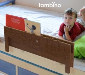 Sponda lettino con mensola caseperbambini maya azzar - Letto per bambini con scivolo ...