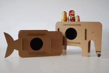Comodino di cartone per bambini blog di maya azzar architetto caseperbambini maya azzar - Mobili per bambini design ...
