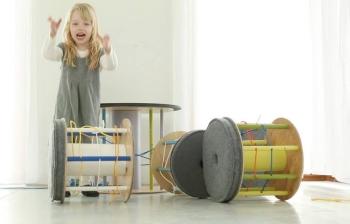 pouf bambini design