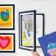 Cornici apribili per i disegni dei bambini