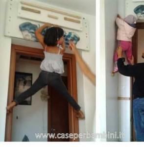 parete arrampicata bambini