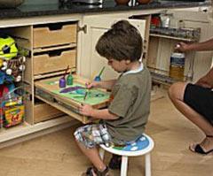 Una cucina a misura di bambino