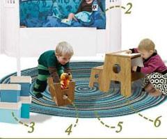 Idee e ispirazioni naturali per arredare la cameretta dei bambini