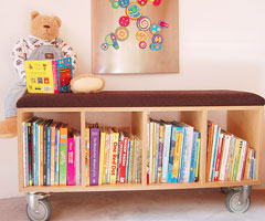 Idee per una libreria a misura di bambino