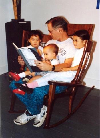 family chiar sedia con bambini