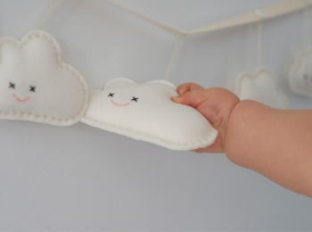Decorazioni in feltro per bambini