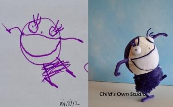 bambola disegno