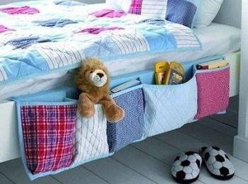 Tasche per il letto dei bambini