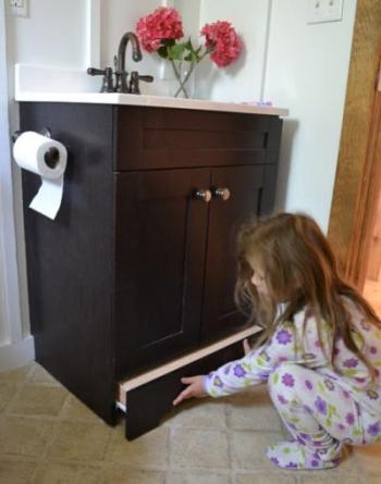 gradino lavandino bambini