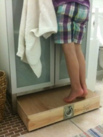 rialzo bagno bambini