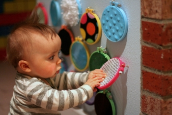 parete sensoriale bambini