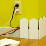 Recinzione per i cavi elettrici